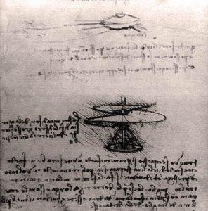 Leonardo volo verticale