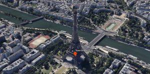 Google Earth Tour Eiffel