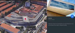 Architetture di Zaha Hadid su Google Earth