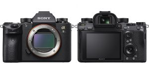 Sony Alpha A9 sensore e display