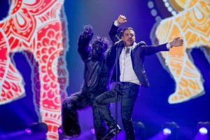 Francesco Gabbani all'Eurovision