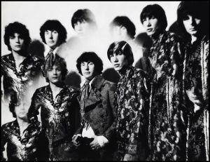 "Pink Floyd nel 1967 foto per ""The Piper At the Gates of Dawn"""
