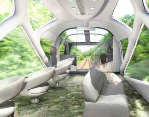 Shiki-Shima carrozza panoramica