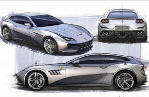 Design Ferrari GTC4 Lusso