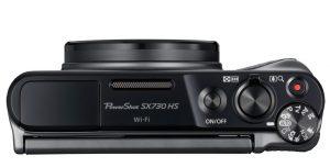 Canon SX730 HS rotelle comandi