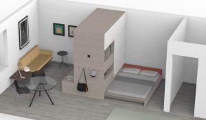 Ori Systems configurazione camera da letto
