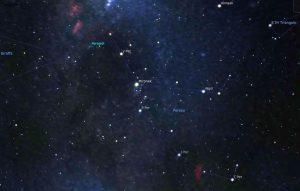 Perseidi mappa Stellari