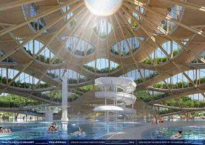 Piscina edificio centrale Nautilus resort