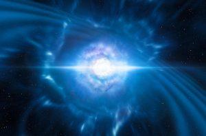 Onda neutroni rappresentazione artistica