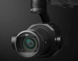 Lente camera Zenmuse X7