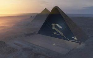 Sezione piramide Cheope