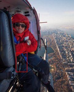 Casey Neistat su un elicottero con una GH5S?