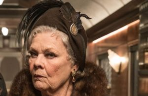 Judi Dench in Assassinio sull'Oriente Express