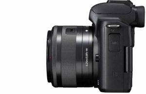 Canon M50 con obiettivo EF-M 15–45mm f/3.5-6.3