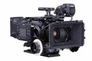Canon EOS C700 FF con follow focus