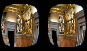 Immagine stereo VR Studiolo Isabella