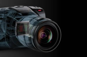 Blackmagic Pocket Cinema Camera 4k sensore