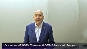 Laurent Abadie Presidente e CEO Panasonic Europe
