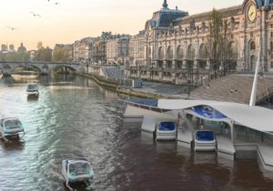 Dock station Seabubbles a Parigi
