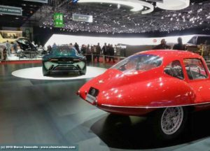Disco Volante Touring 1952 e 2012 a Ginevra