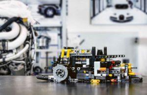 Motore Bugatti Lego Technic
