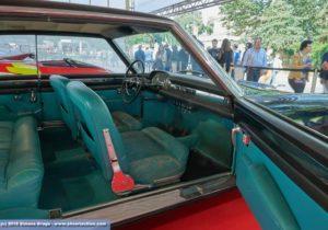 Dettaglio portiere a libro Lancia Flaminia Florida II Pininfarina