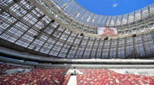 LED Unilumin stadio Luzhniki