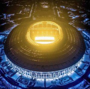 Vista top stadio Luzhniki