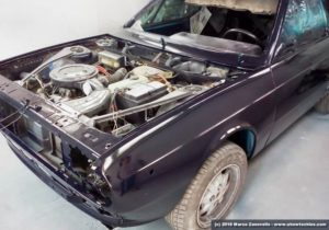 Lancia Beta Coupé verniciatura e rimontaggio