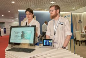 CMC stand Cannes con software di controllo