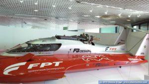 FPT Industrial barca record velocità