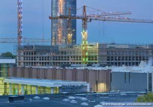 Nuova fiera di Colonia in costruzione