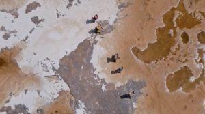 Ripresa aerea di Yann Arthus-Bertrand