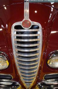 Griglia frontale Alfa Romeo 6C 2500 Villa d'Este Superleggera