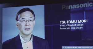 Tsutomu Mori (Head of Product Design Panasonic)
