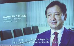 Yasuhiro Ohsone, Head of Product Planning Sigma Corporation