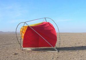Primi test di O-Wind ispirato pallone rover