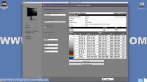 Report calibrazione Benq SW320