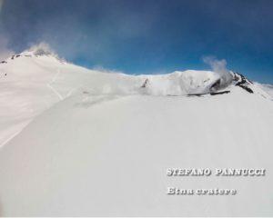 Etna innevato foto di Stefano Pannucci