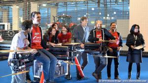 Forvola Team con i giudici del record a Torino