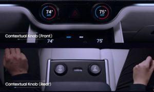 Samsung Harman Digital Cockpit manopole controllo