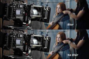 Panavision blur vs noblur