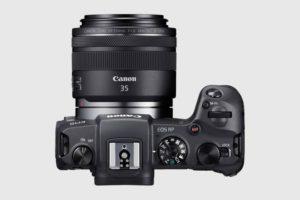 Canon EOS RP vista ghiere