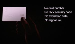 Apple Card Titanio