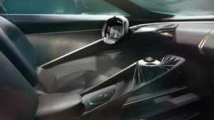 Aston Martin Lagonda Concept chiave flottante