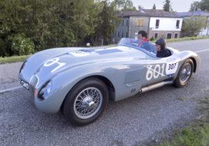 1000 Miglia Jaguar C-Type