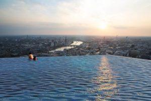 Infinity Pool a sfioro su Londra