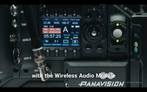 Panavision Millennium DXL2 audio wireless