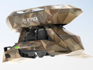 Jet Pack Aviation SpeederTM Cargo