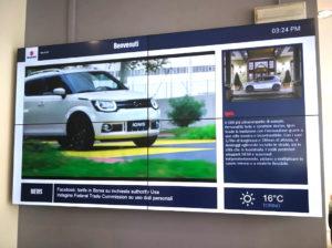 Digital Signage BenQ nelle concessionarie Suzuki